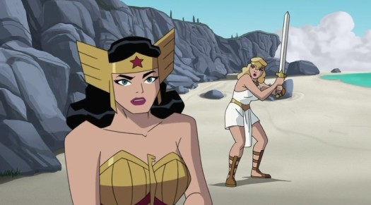 Wonder Woman & Mala-Fierce Sword Combat!