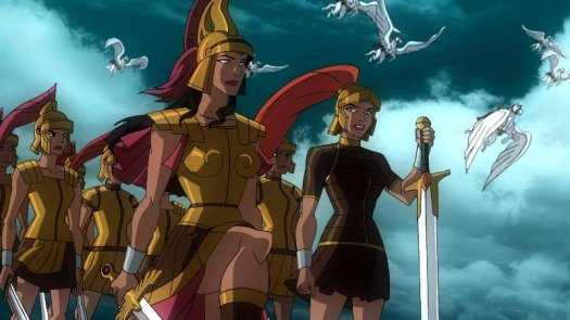 Hippolyta, Artemis, And The Amazons-Ready For The Final Throwdown With Ares!