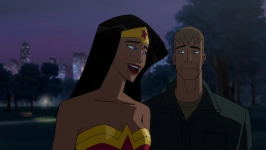 Wonder Woman & Steve Trevor-Ready For Big Adventure In The Big Apple!