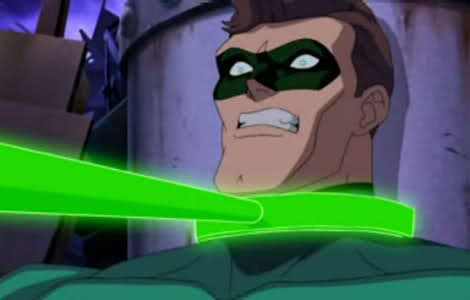 Hal Jordan-Getting Chewed Out By Sinestro!