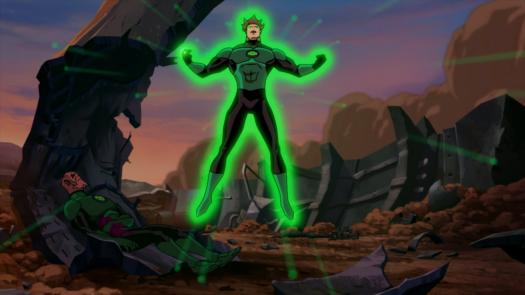 Hal Jordan-Ready To Take Abin Sur's Place!