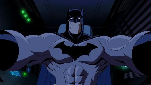 Batman-Riding Towards Kaboom 'Cuz He Wields It!