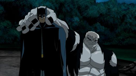 Batman-Under Solomon Grundy's Might!