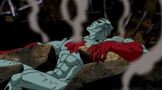 Captain Atom-Down For The Count!