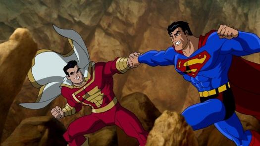 Captain Marvel & Superman-A Battle Of Boy Scouts!