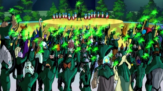 Green Lantern Corps-Victorious Over Evil!
