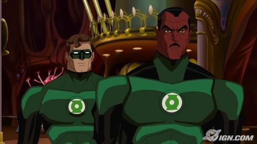 Hal & Sinestro-Interstellar Invesitation!