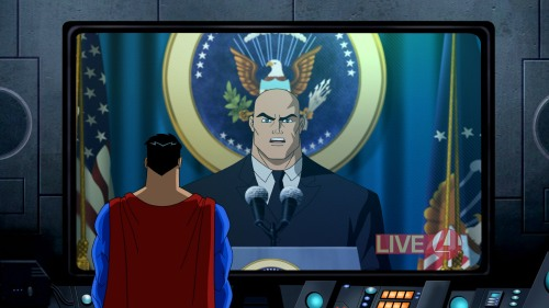 Image result for president luthor and superman