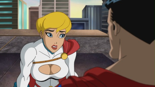Power Girl-Laying Down The Truth 4 Supes!
