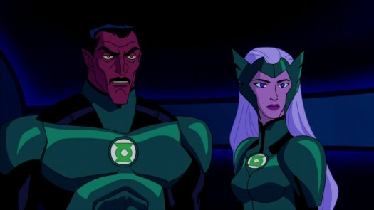 Sinestro & Boodikka-Traitors To The Corps!