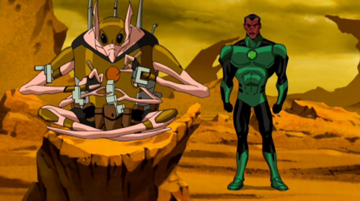 Sinestro-Confronting The Weaponers For The Yellow Ring!