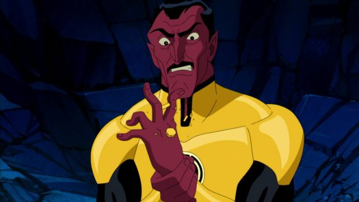 Sinestro-Defeated!