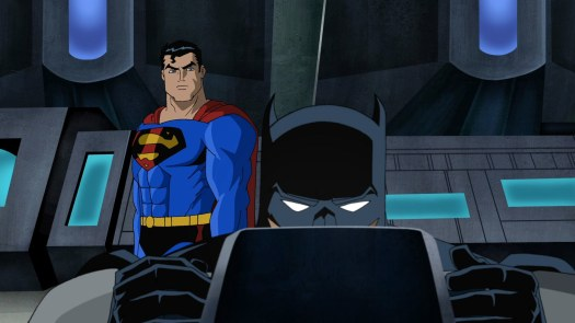 Superman & Batman-Saving Each Other's Backs, Even When They Don't Say It!