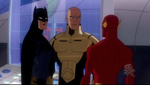Batman-Knowing The Danger Enough To Not Risk The Flash's Life!