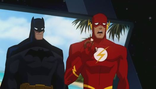 Batman-The Flash Is The Perfect Teleporter Target!
