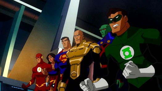 Justice League & Luthor-Ready 4 The Initial Throwdown!
