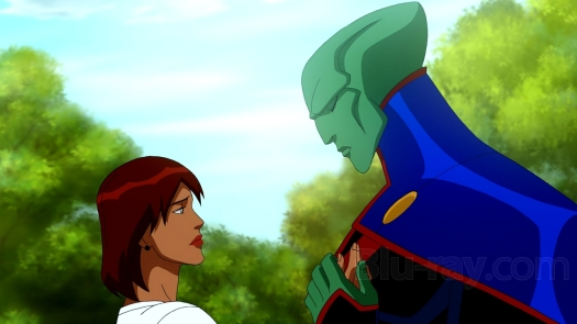 Martian Manhunter-Saying Goodbye To A New Connection!