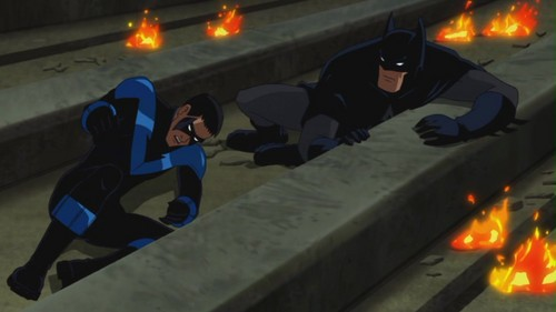 Batman & Nightwing-So Ends The Chase!