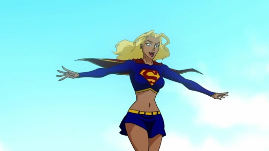Supergirl-Taking Flight!