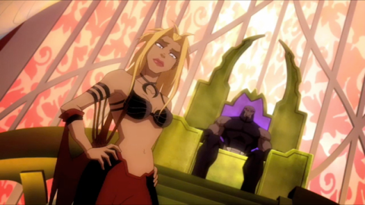 Supergirl-Under Darkseid's Thumb!