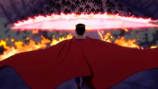Superman-Burn Baby BURN!