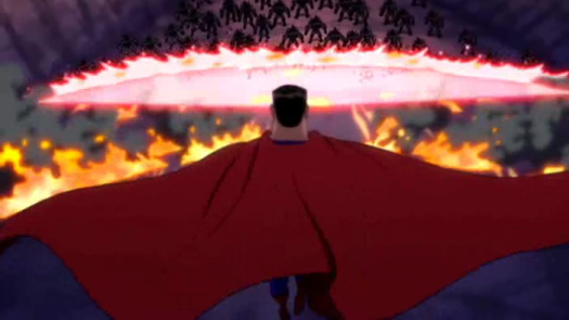 Superman-Burn Baby BURN!