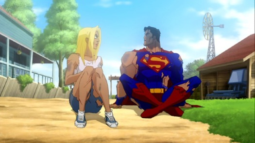Superman & Supergirl-The Day Is Saved!