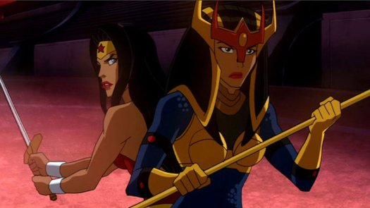 Wonder Woman & Big Barda-No Female Fury Shall Smite Them!