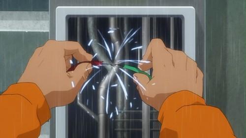 Lex Luthor-Hot-Wiring An Escape!