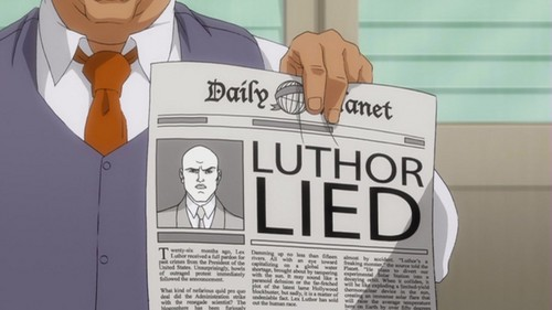 Lex Luthor-To Be Jailed By The Truth!