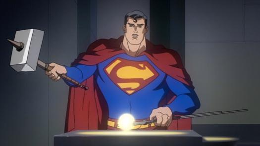 Superman-Feeding My Baby Sun-Eater!