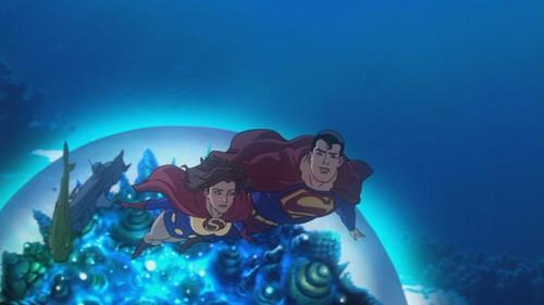 Superman-Lois' Birthday In Atlantis Was Fun!