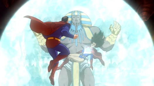 Superman-The Ultra-Sphinx Awaits Your Answer!