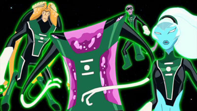 Green Lantern Corps-First Group, First Fight!