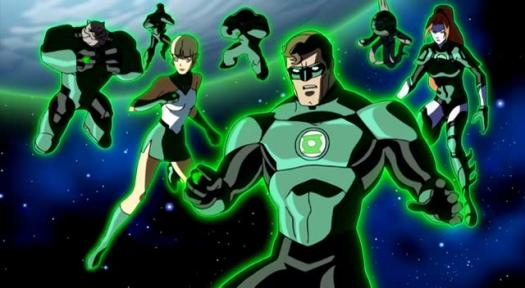 Green Lantern Corps-Krona's Going Down!