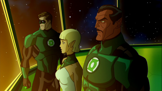 Hal Jordan, Arisia, & Sinestro-Calm Before The Storm! (2)