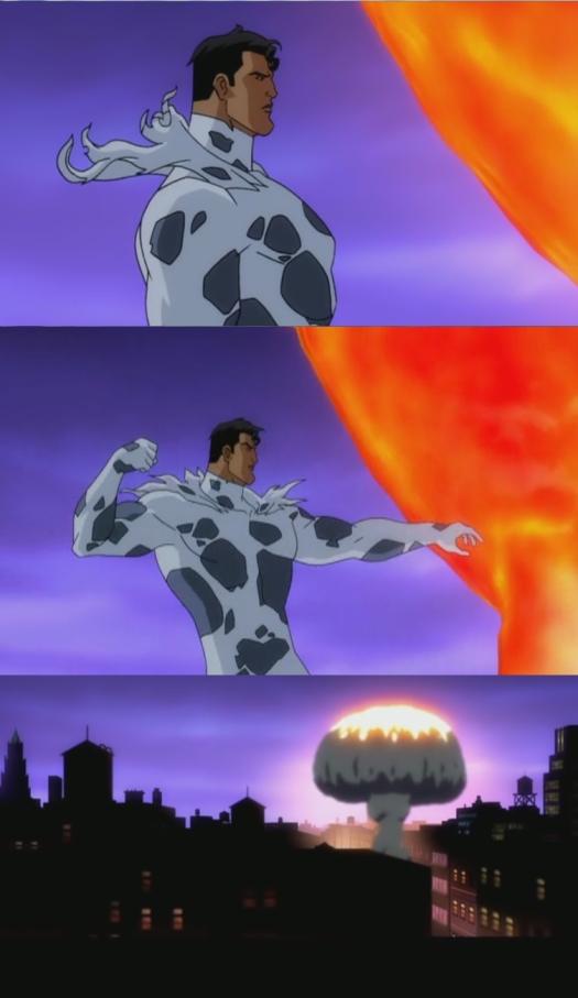 Superman-Solaris Is Down!