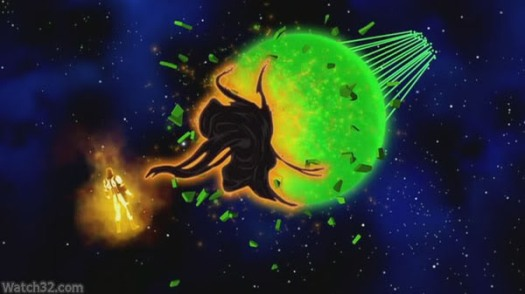 Green Lantern Corps-Tussling Against Krona!