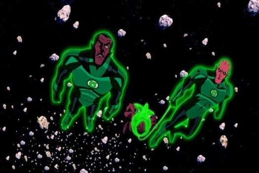 Sinestro-Exposition On Atrocitus!