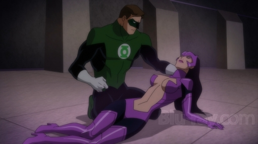 Green Lantern-Victory Over Past Love!