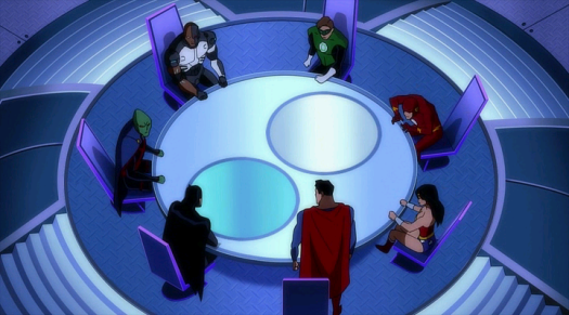 Justice League-The Big Meeting!