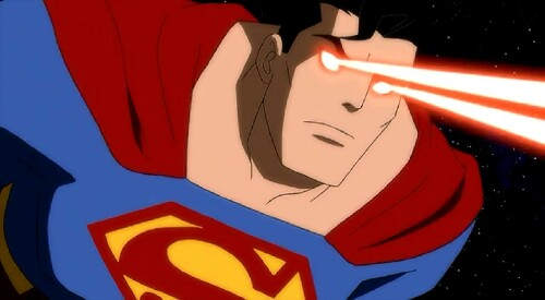 Superman-Missile Blasting!
