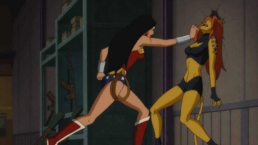 Wonder Woman-Down Cheetah!