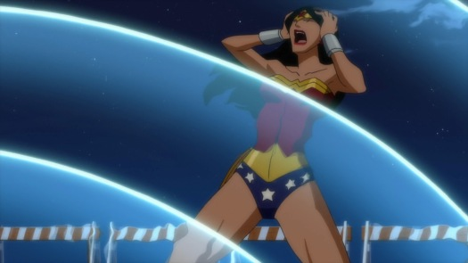 Wonder Woman-Getting The Cure!