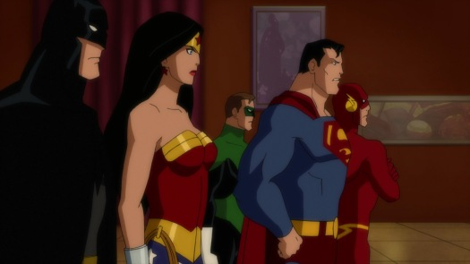 Justice League-Time To Throw Down!