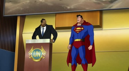 Superman-A Not-So-Peaceful U.N. Meet!