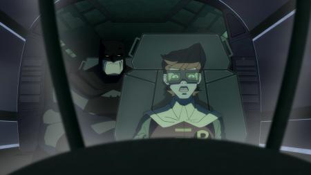 Batman & Robin-Time To 'Peel'!
