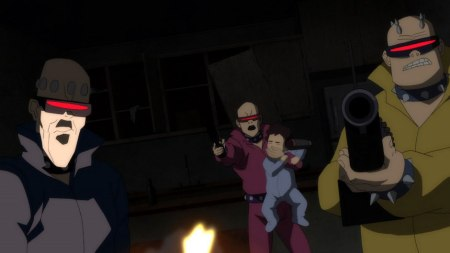 Mutants-About To Get Smacked Down For Kidnapping A Two-Year Old!