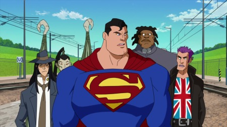 Superman-Time To Put Your Teamwork To The Test, Guys!