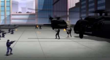 Lois Lane-Didn't Take Long To Get Kidnapped!